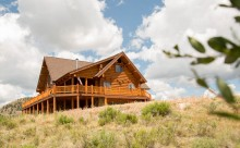 Spectacular Log Home in Spring Creek Ranch