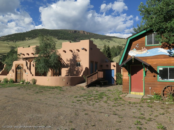 Southwestern Style Home With Business Zoning